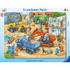 Ravensburger Rahmenpuzzle Große Baustellenfahrzeuge