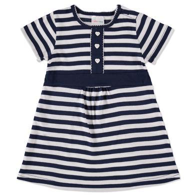 pink or blue Kleid marine streifen Mädchen