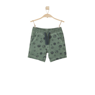 s.OLIVER Boys Short khaki - grün - Jungen