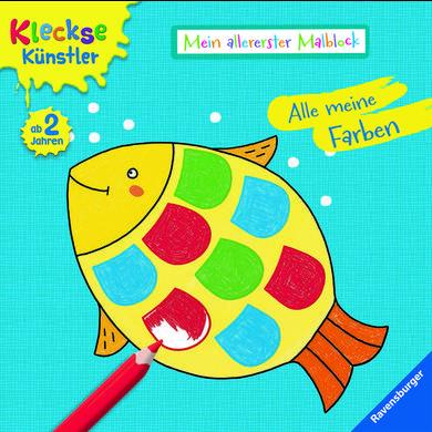 Ravensburger  Mein allererster Malblock: Alle meine Farben
