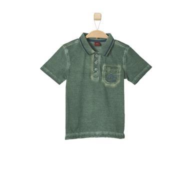 s.OLIVER Boys Poloshirt khaki - grün - Jungen