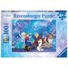 RAVENSBURGER Puzzle  XXL 100 elementów Disney Kraina Lodu - Magia lodu