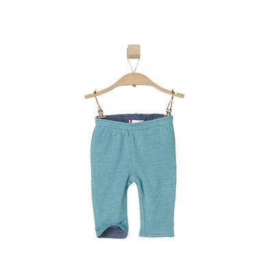 s.OLIVER Boys Wendehose turquoise stripes - türkis - Jungen