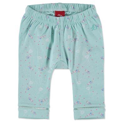 s.OLIVER Girls Leggings mint - blau - Mädchen