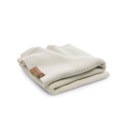 Wolldecke Soft Naturweiß Melange