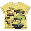 ESPRIT poikien Cars T-paita keltainen