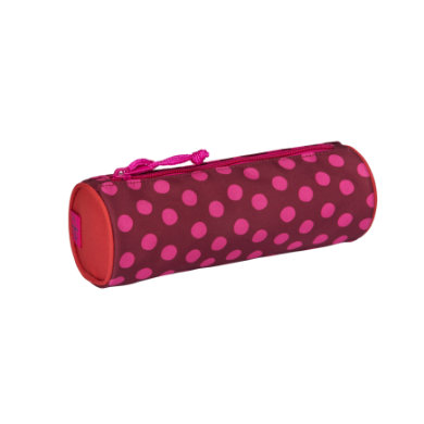 Lässig 4Kids School Pencil Case Dottie red bunt