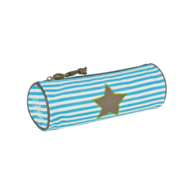 Lässig  4Kids School Pencil Case - starlight olive - pestrobarevná