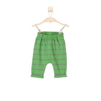 s.OLIVER Boys Leggings green - grün - Jungen
