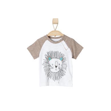 s.OLIVER Boys T-Shirt brown melange - braun - Jungen