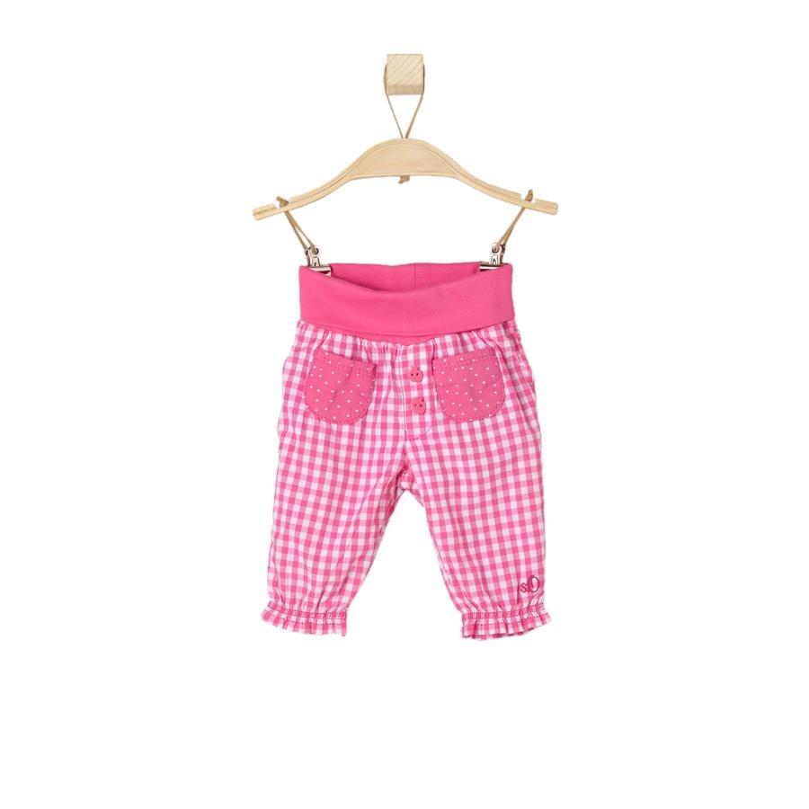 s.OLIVER Girls Hose pink check