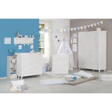 Babyzimmer - roba Kinderzimmer Sarah weiß, 3 türig  - Onlineshop Babymarkt