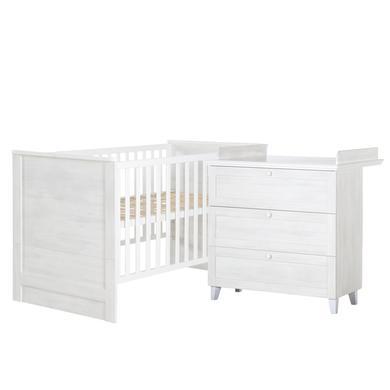 Babyzimmer - roba Sparset Sarah weiß 2 teilig  - Onlineshop Babymarkt