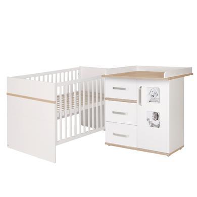 Babyzimmer - roba Sparset Pia weiß schmal 2 teilig  - Onlineshop Babymarkt