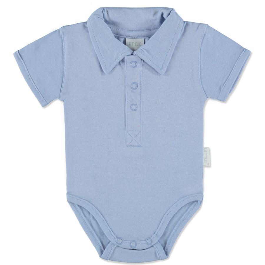 LITTLE Body Polo blau