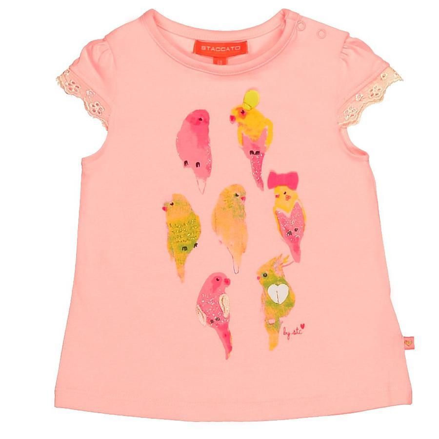STACCATO Girls Baby T-Shirt shiny rose