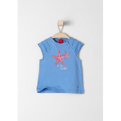 s.Oliver Kids T-Shirt medium blue - blau - Mädchen