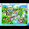 RAVENSBURGER Puzzle - Návštěva v Zoo, 45 dílů