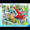 Ravensburger Rahmenpuzzle - Rettungseinsatz, 39 Teile