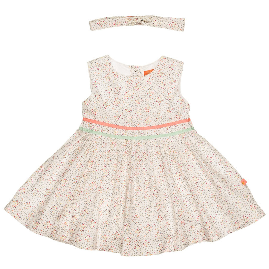 STACCATO Girls Baby Kleid Stirnband white