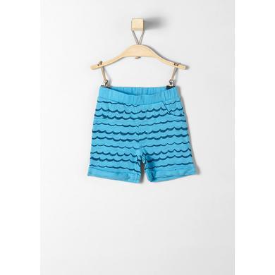 s.Oliver Boys Shorts blue - blau - Jungen