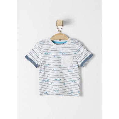 s.Oliver Boys T-Shirt white melange - weiß - Mädchen