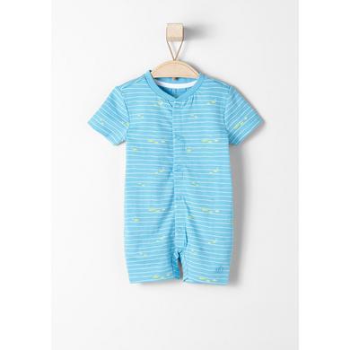 s.Oliver Girls Overall blue - blau - Mädchen
