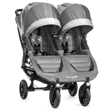 Baby Jogger Buggy City Mini GT Double steel-gray