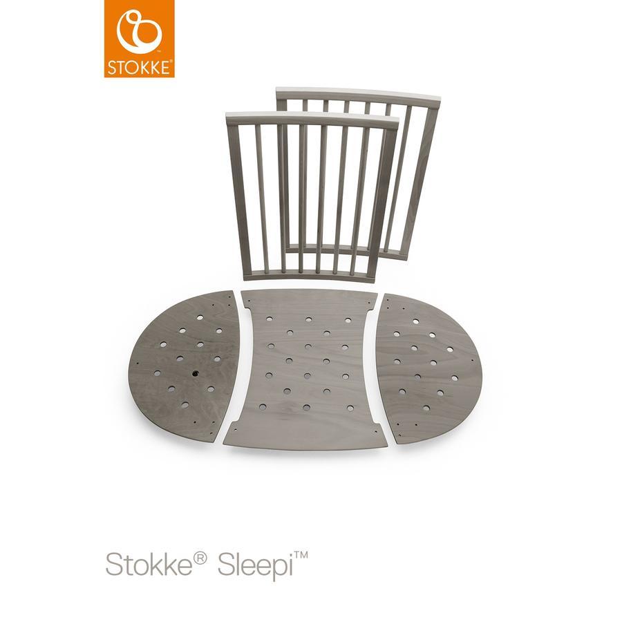 Kinderbetten - STOKKE® Sleepi™ Kinderbett Umbausatz Hazy Grey  - Onlineshop Babymarkt