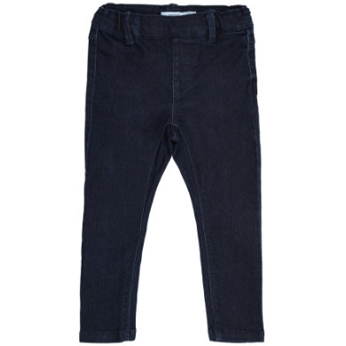 name it  Girls Jeans RITA dark denim - černá - Gr.104