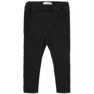 name it  Girls Džíny Tea black Denim - černá - Gr.104