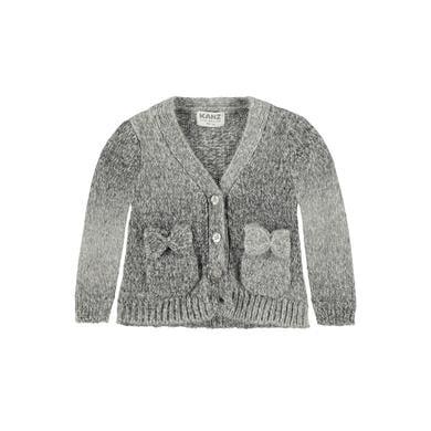 Kanz Girls Baby Strickjacke wolve gray melange grau Gr.Babymode (6 24 Monate) Mädchen