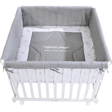 Laufgitter - roba Laufgitter 100 x 100 cm weiß Rock Star Baby  - Onlineshop Babymarkt