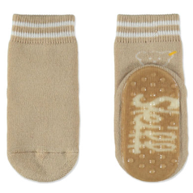 Steiff ABS Söckchen beige braun Gr.Babymode (6 24 Monate) Unisex