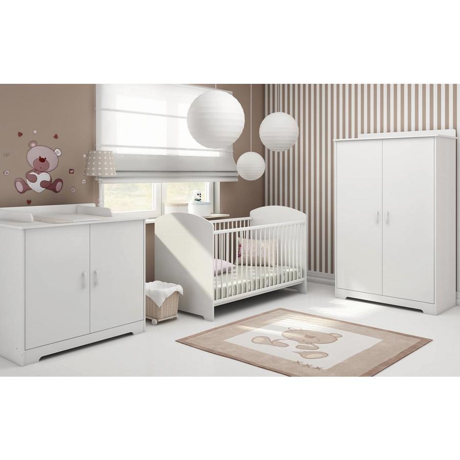 Image of bisal Kinderzimmer Cindy 2-türig - weiß - Gr.70x140 cm