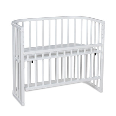 babybay  postýlka Comfort white varnished extra airy