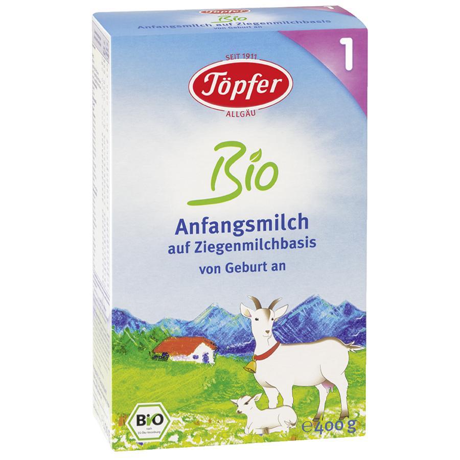 Töpfer Anfangsmilch 1 auf Ziegenmilchbasis 400 g