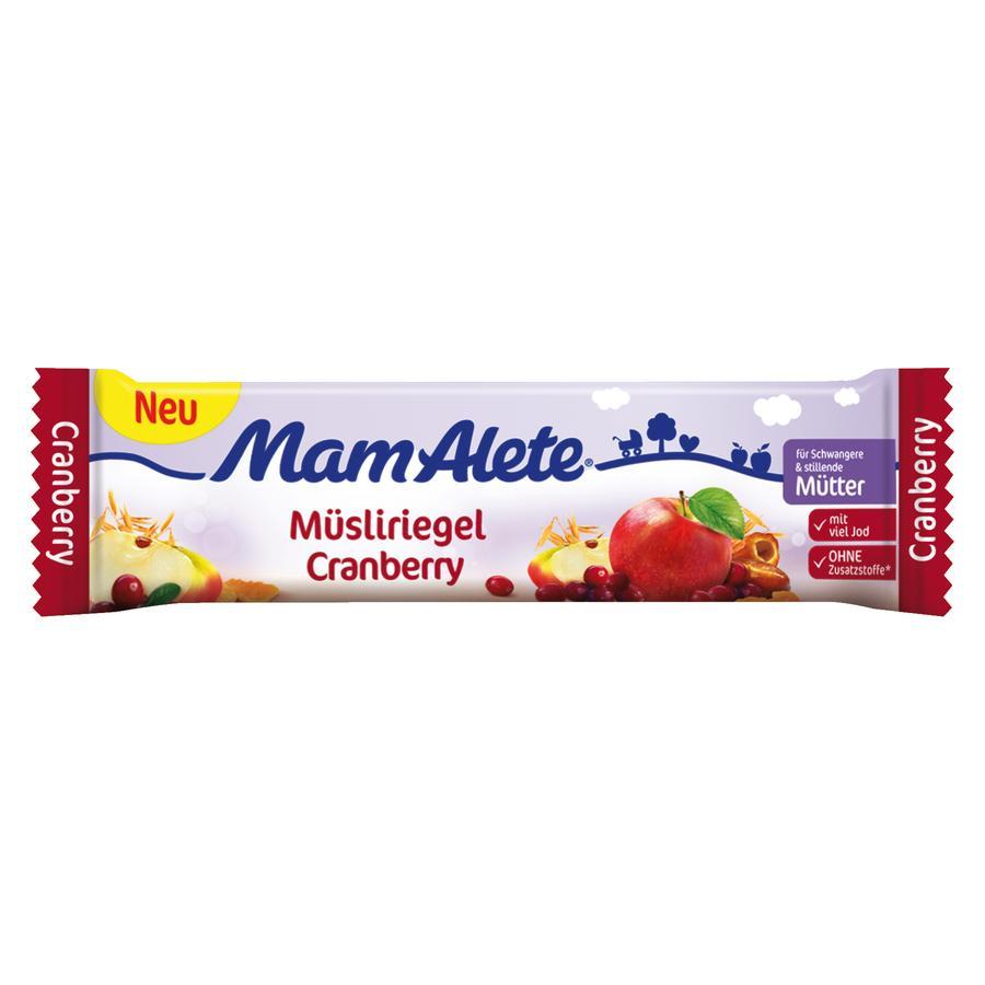 MamAlete Müsliriegel Cranberry 40 g