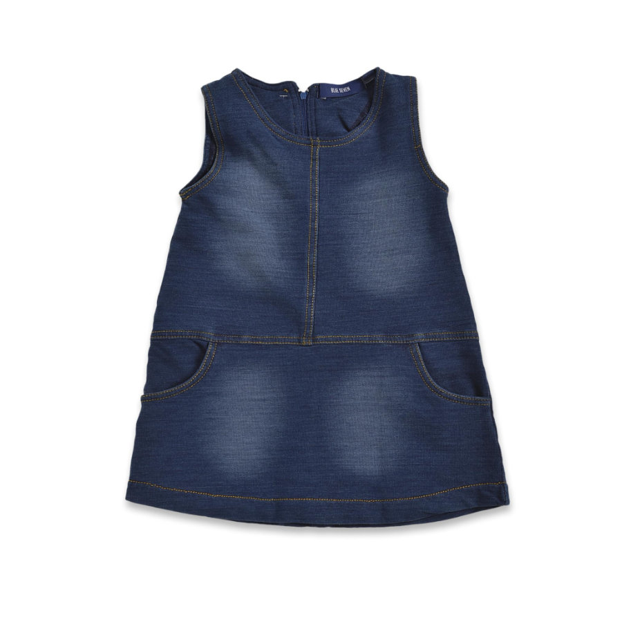 BLUE SEVEN Girls Schlupfkleid dunkelblau