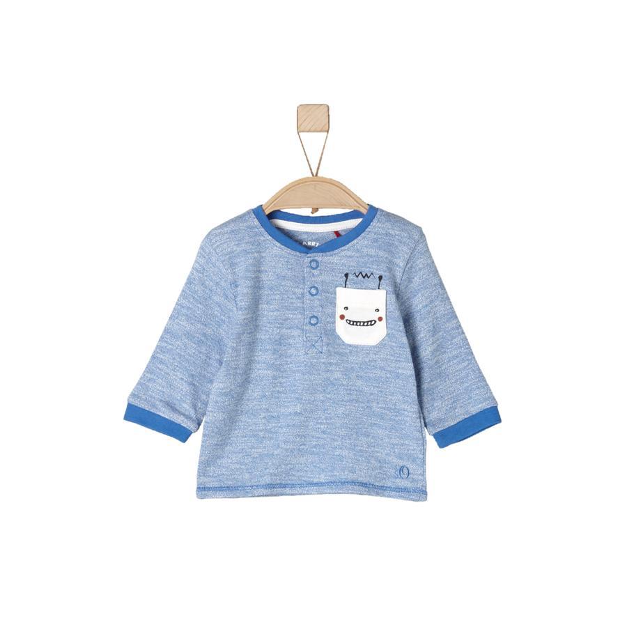 s.Oliver Baby Longsleeve medium blue allover