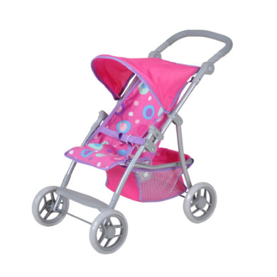 knorr� toys Poppenbuggy Liba pink slash