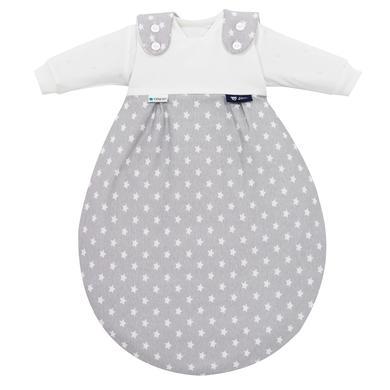 Image of Alvi Baby-Mäxchen® 3tlg. - Edition Tencel - Stars silber - grau