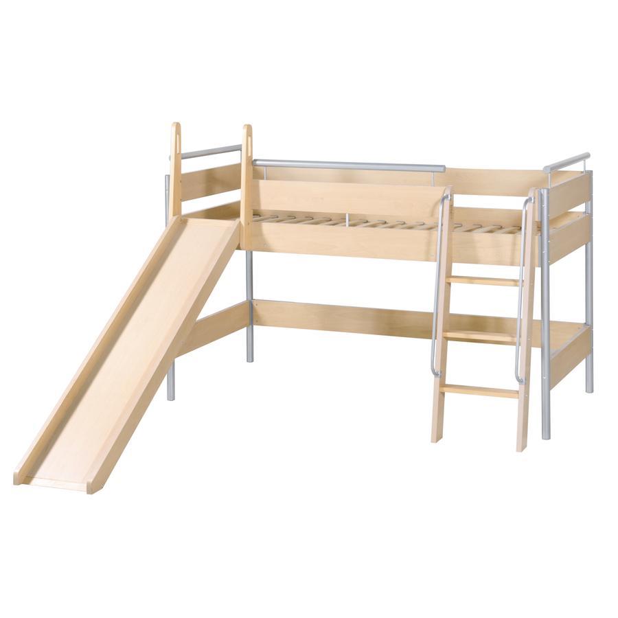 roba Abenteuerbett-System mit Leiter und Rutsche Höhe 147 cm