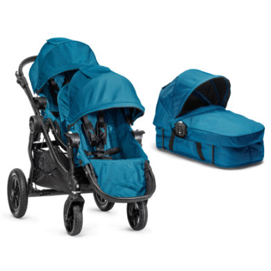 Baby Jogger Buggy City Select 4 wheeler complete set teal