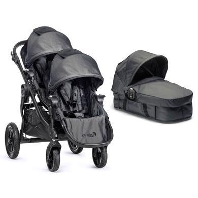 Baby Jogger Buggy City Select 4 wheeler complete set black-denim