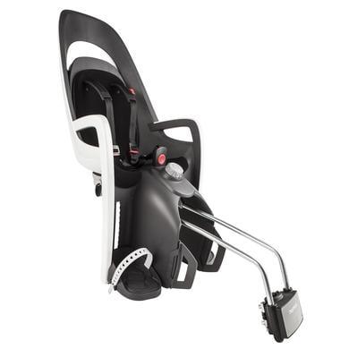 Hamax Caress fietsstoeltje met slot grijs- zwart- wit