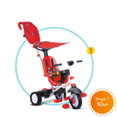 Image of Fisher-Price® Dreirad Charisma, rot