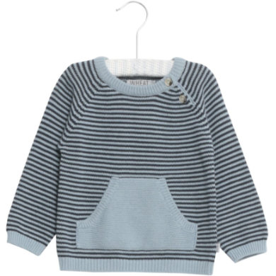 WHEAT Knit Pullover Arnold ashleyblue