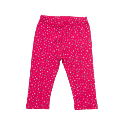 Salt and Pepper Baby Glück Girls Legging Bunny allover magenta rot Mädchen