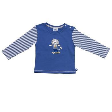 Salt and Pepper Baby Glück Boys Longsleeve Tiger bright blue blau Jungen